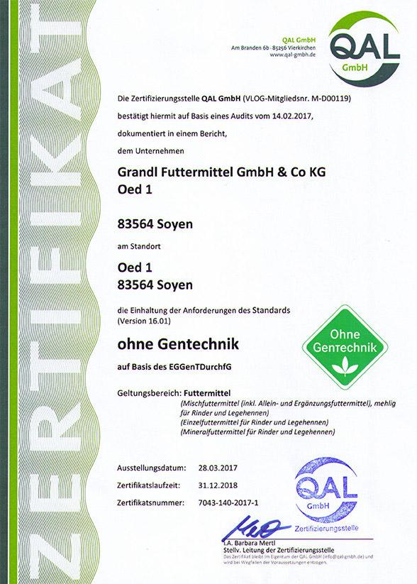 Grandl Gentechnikfrei-122018